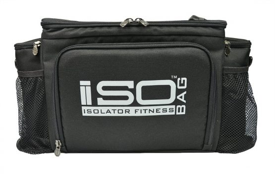 Meal Management Bag - Isolator Fitness Silver Logo 6 Meal ISO Bag