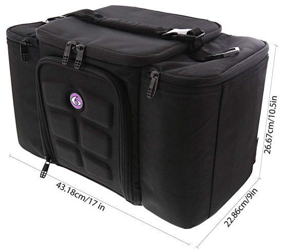 6 Pack Fitness Innovator 300 Meal Management Bag2