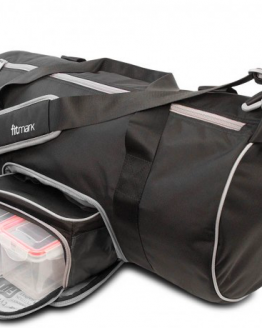 Fitmark Black Transporter Duffel Bag1