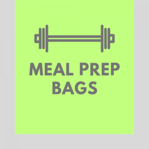 Dedicated Meal Management Bags