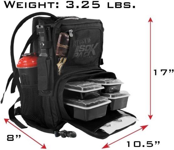 Meal Prep Bag - Isolator Fitness Rugged ISOPACK3